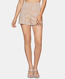 BCBGeneration Textured Basket-Weave Shorts