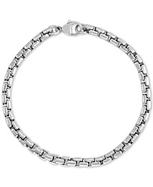 EFFY® Men's Link & Chain Bracelet in Sterling Silver