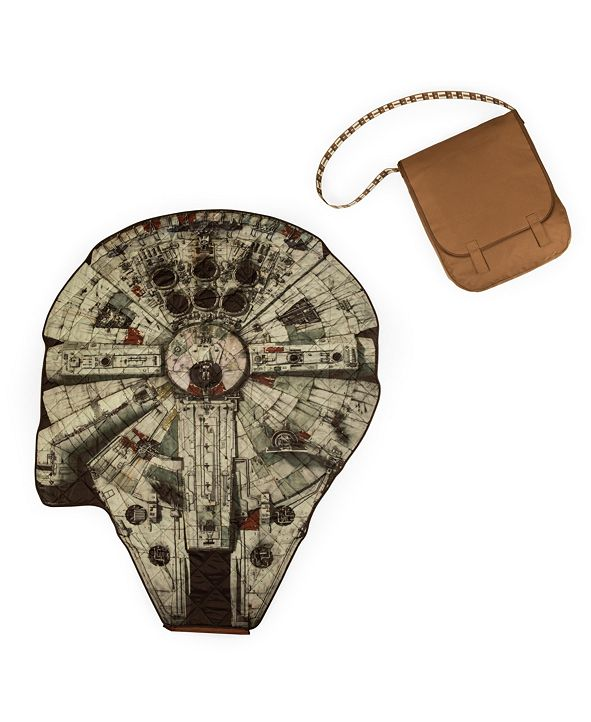 Picnic Time Oniva® by Star Wars Millennium Falcon Blanket in a Bag