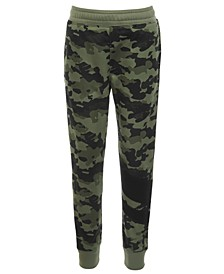 Little Boys Camo-Print Jogger Pants, Created for Macy's