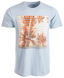 Univibe Men's Palm Lines Graphic T-Shirt