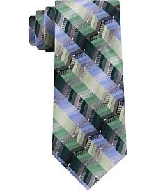 Van Heusen Men's Cory Classic Ombré Zig-Zag Stripe Tie