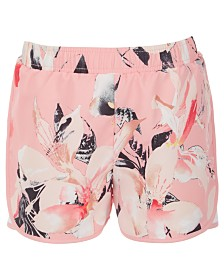 Ideology Little Girls Printed Active Shorts, Created for Macy's