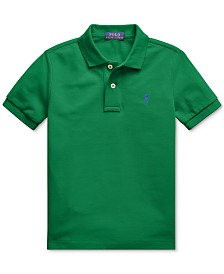 Polo Ralph Lauren Toddler Boys Basic Mesh Knit Polo Shirt