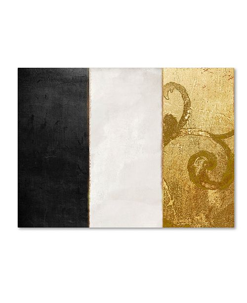 "Trademark Global Color Bakery 'Fashion Flag II' Canvas Art - 14"" x 19"""