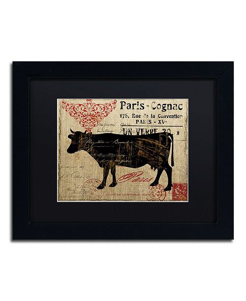 "Trademark Global Color Bakery 'Paris Farms I' Matted Framed Art - 11"" x 14"""