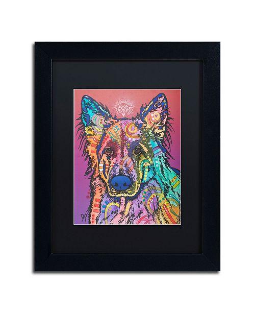 """Trademark Global Dean Russo 'Timber' Matted Framed Art - 11"""" x 14"""""""