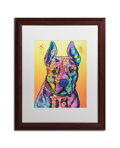 "Trademark Global Dean Russo 'Bugsy 2' Matted Framed Art - 16"" x 20"""