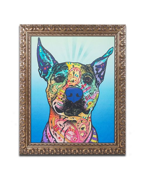 "Trademark Global Dean Russo 'Lani Ruth 25' Ornate Framed Art - 11"" x 14"""