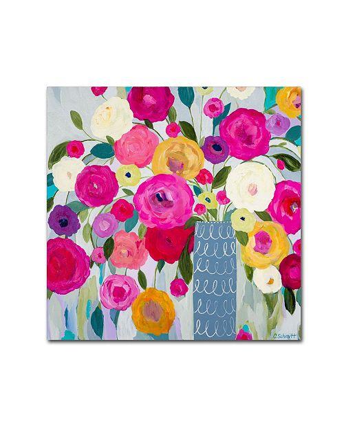 """Trademark Global Carrie Schmitt 'Where Love Resides' Canvas Art - 24"""" x 24"""""""