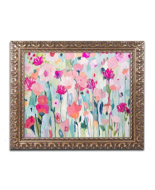 """Trademark Global Carrie Schmitt 'Shasta' Ornate Framed Art - 11"""" x 14"""""""
