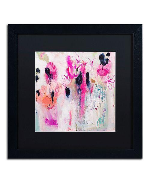 """Trademark Global Carrie Schmitt 'Unintentional Beauty' Matted Framed Art - 16"""" x 16"""""""