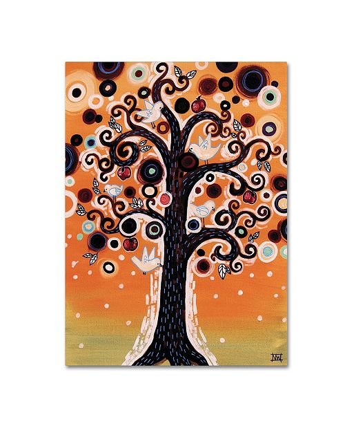 "Trademark Global Natasha Wescoat '015' Canvas Art - 24"" x 32"""
