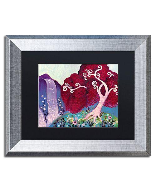 "Trademark Global Natasha Wescoat '031' Matted Framed Art - 11"" x 14"""
