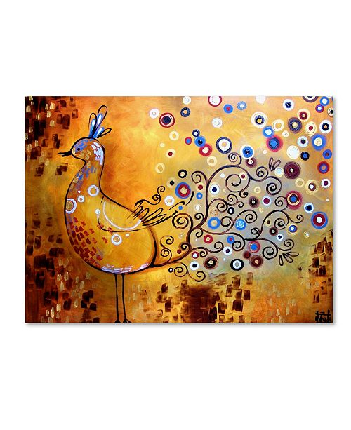 "Trademark Global Natasha Wescoat '044' Canvas Art - 14"" x 19"""