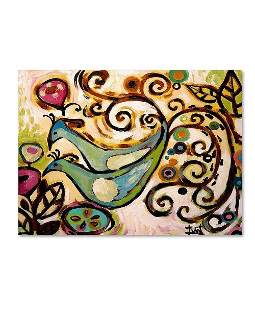 "Trademark Global Natasha Wescoat '045' Canvas Art - 24"" x 32"""