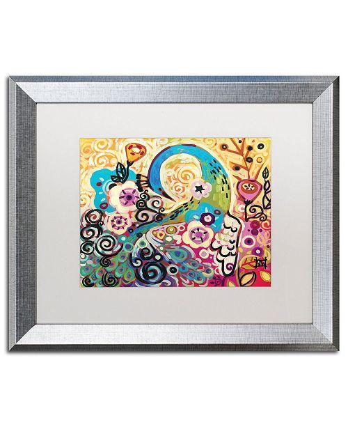"Trademark Global Natasha Wescoat '046' Matted Framed Art - 16"" x 20"""