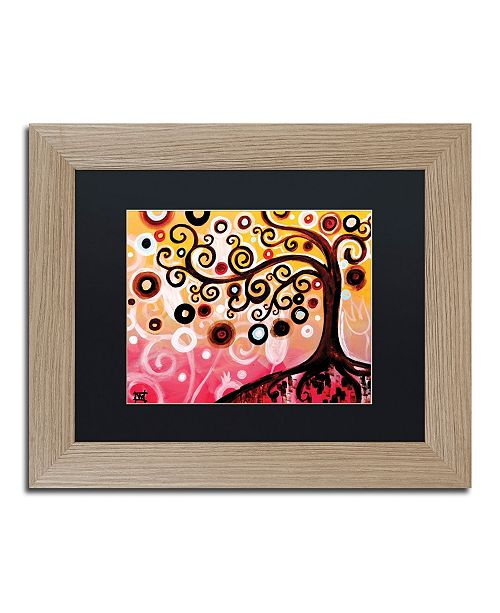 "Trademark Global Natasha Wescoat '062' Matted Framed Art - 11"" x 14"""
