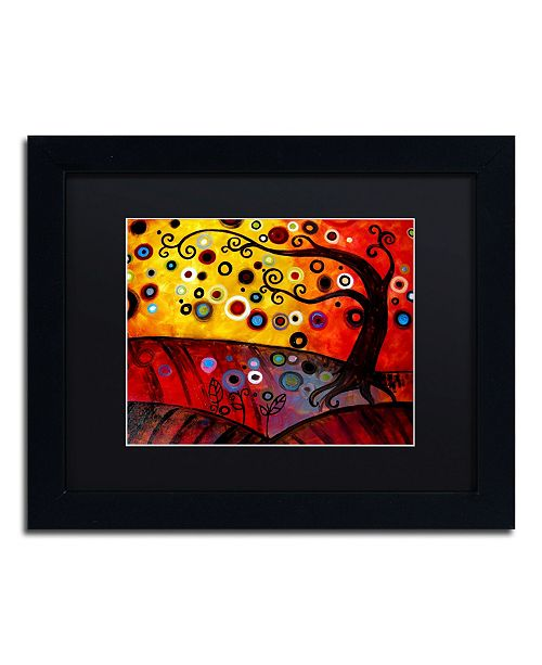 "Trademark Global Natasha Wescoat '071' Matted Framed Art - 11"" x 14"""