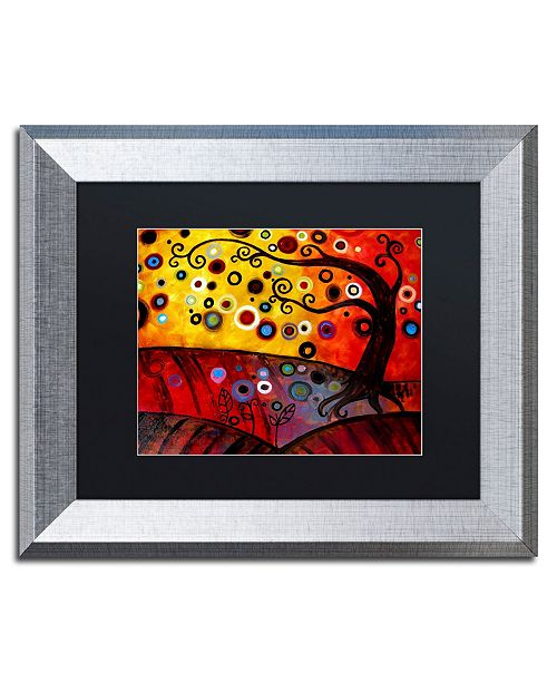"Trademark Global Natasha Wescoat '071' Matted Framed Art - 11"" x 14"""
