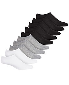 Hue Women's 10 Pack No-Show Sport Socks