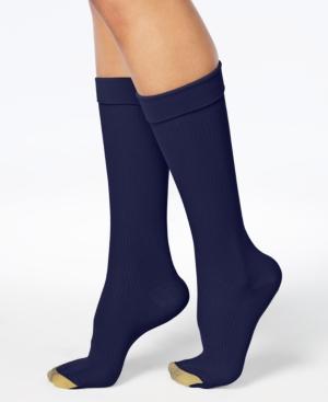 Wellness Women's Compression Moderate Ribbed Calf Socks
