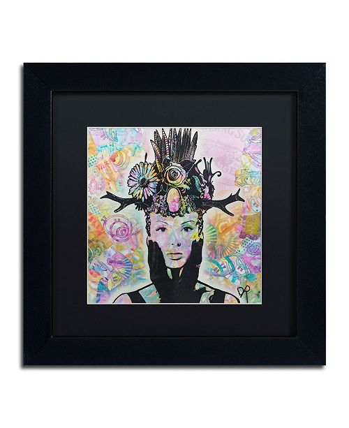 "Trademark Global Dean Russo 'Lucid' Matted Framed Art - 11"" x 11"""