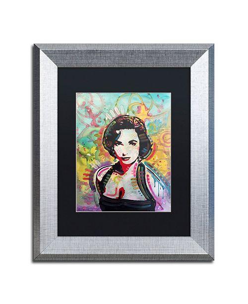 """Trademark Global Dean Russo 'Liz' Matted Framed Art - 11"""" x 14"""""""