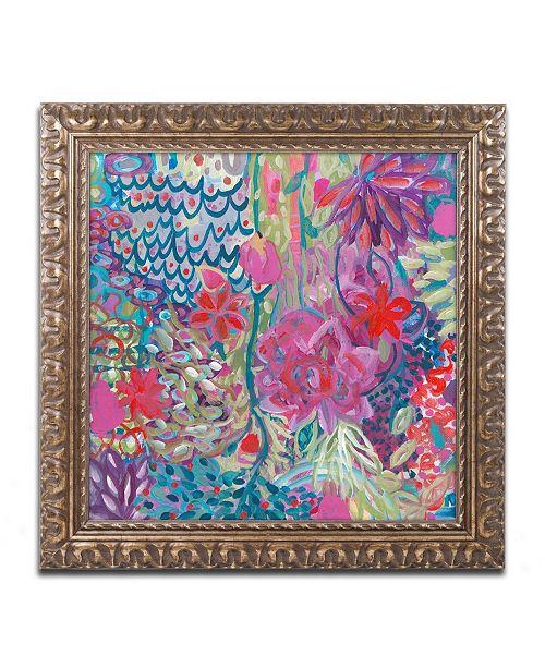 """Trademark Global Carrie Schmitt 'Floating' Ornate Framed Art - 11"""" x 11"""""""