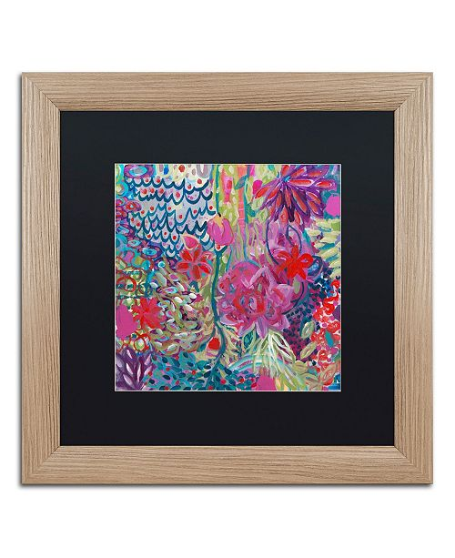 "Trademark Global Carrie Schmitt 'Floating' Matted Framed Art - 16"" x 16"""