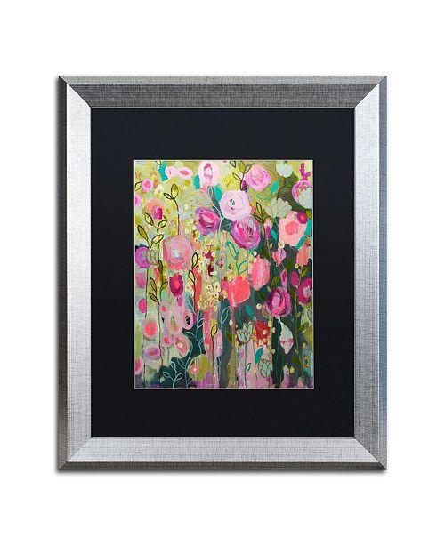 "Trademark Global Carrie Schmitt 'After Time With You' Matted Framed Art - 16"" x 20"""
