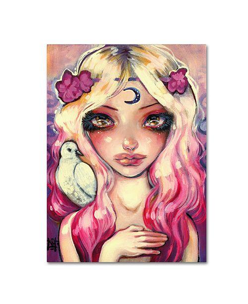 "Trademark Global Natasha Wescoat 'Moon Child' Canvas Art - 35"" x 47"""