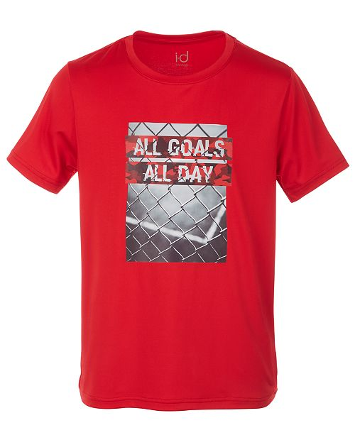 Ideology Big Boys Goals-Print T-Shirt, Created for Macy's