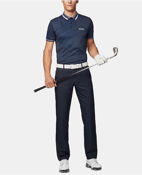beste Qualität neueste Kollektion kauf verkauf BOSS Men's Paule Pro 3 Slim-Fit Contrast Golf Polo Shirt