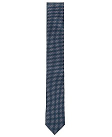 BOSS Men's Italian-Made Jacquard Patterned Tie