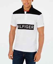 Tommy Hilfiger Men's Slim-Fit Neff Logo Graphic Polo Shirt