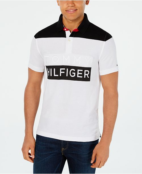 Tommy Hilfiger Men's Big & Tall Custom Fit Neff Polo Shirt
