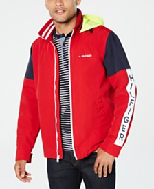Tommy Hilfiger Men's Harbor Colorblocked Hooded Yacht Jacket