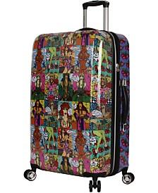 """Betsey Johnson 26"""" Hardside Expandable Spinner Suitcase"""