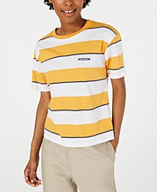Striped Cotton Tomboy T-Shirt