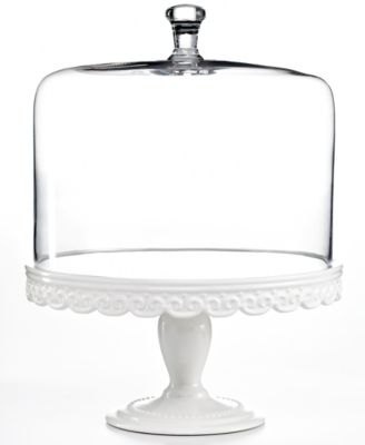 Martha Stewart Collection Serveware Embossed Cake Stand with Dome  sc 1 st  Macy\u0027s & Martha Stewart Collection Serveware Embossed Cake Stand with Dome ...