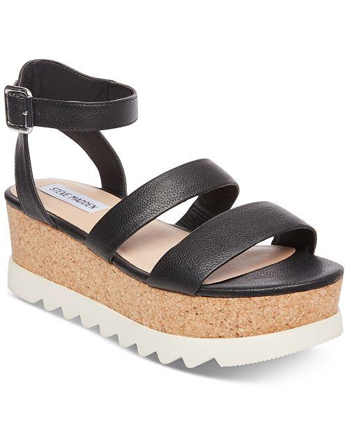 Steve Madden Women's Kirsten Sport Flatform Sandals