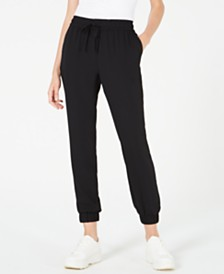Bar III Drawstring Jogger Pants, Created for Macy's