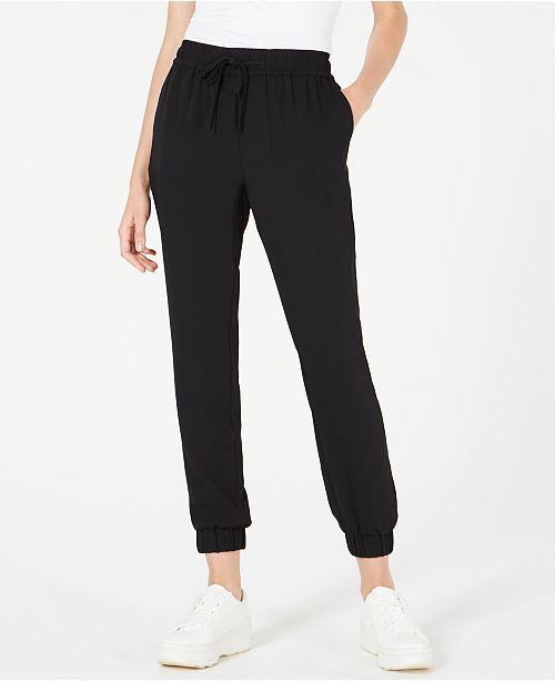 Bar III Drawstring Jogger Pants, Created for Macy's