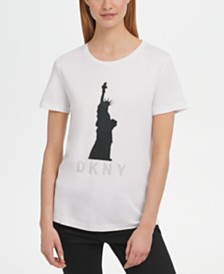 DKNY Statue of Liberty-Graphic T-Shirt