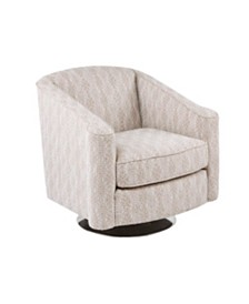 Galway Swivel Accent Chair, Quick Ship