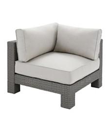 Crosley Outdoor Corner Chair, Quick Ship