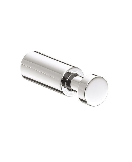 WS Bath Collections Trend Single Bathroom Hook in Polished Chrome