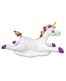Cloud Rider Rainbow Unicorn Inflatable Ride-On Swimming Pool Float
