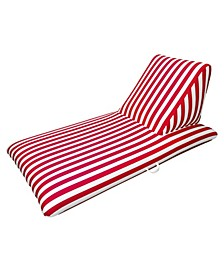 Red Pool Chaise Lounge - Morgan Dwyer Signature